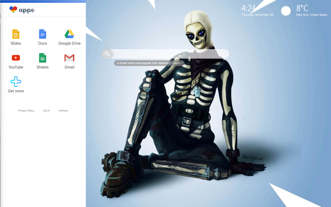 Fortnite Skull Trooper Hd Wallpapers New Tab Themes Lovely Tab