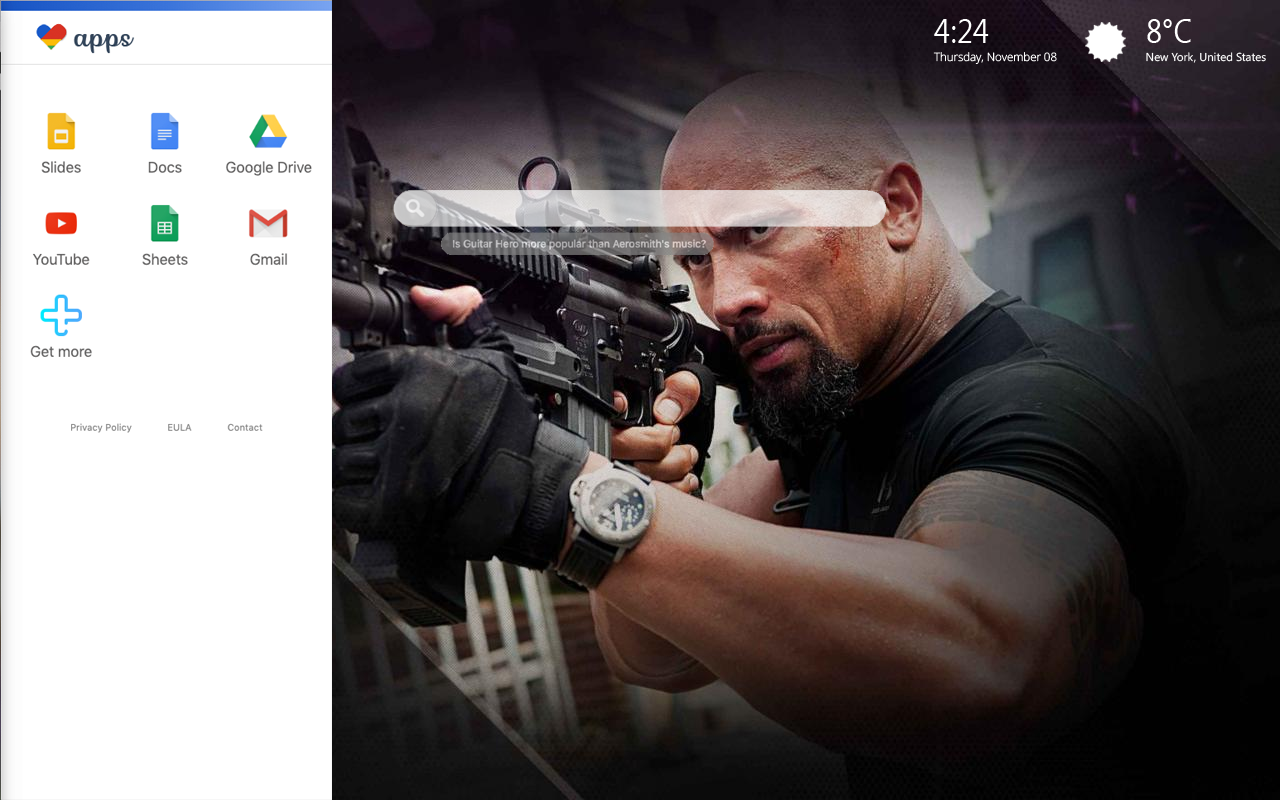 Dwayne Johnson themes