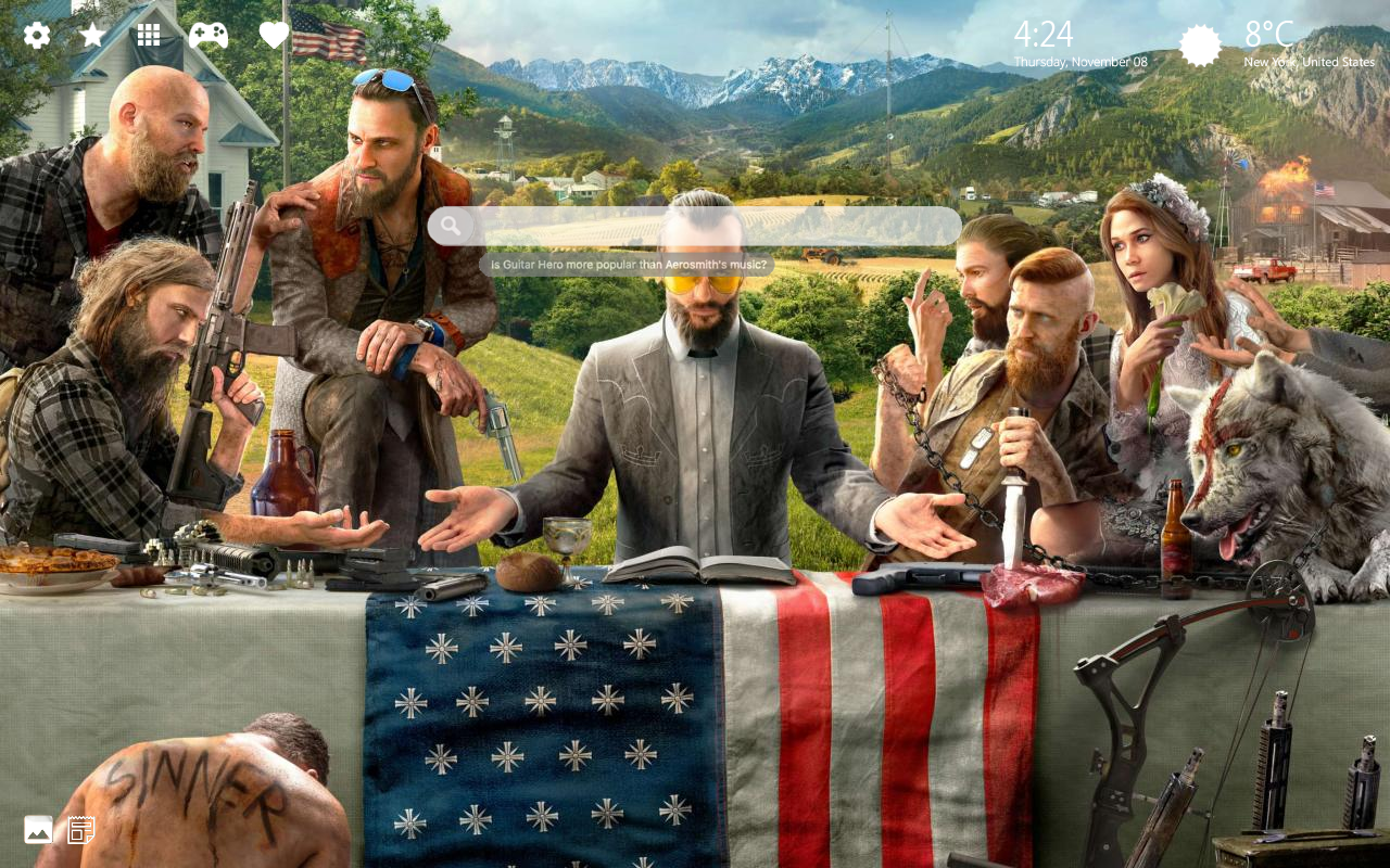 Far Cry 5 Background